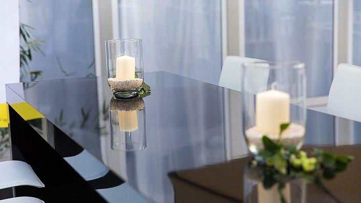 Tisch auf Event