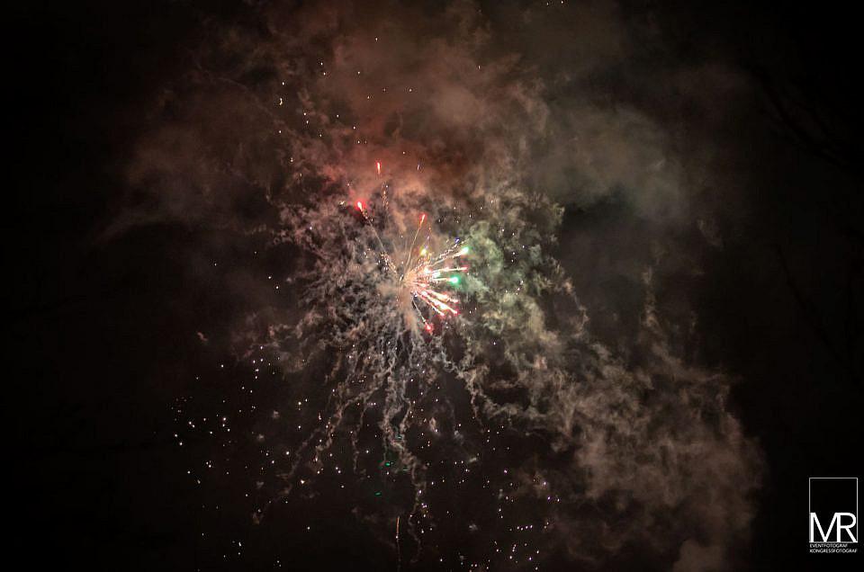 Ein Event Feuerwerk