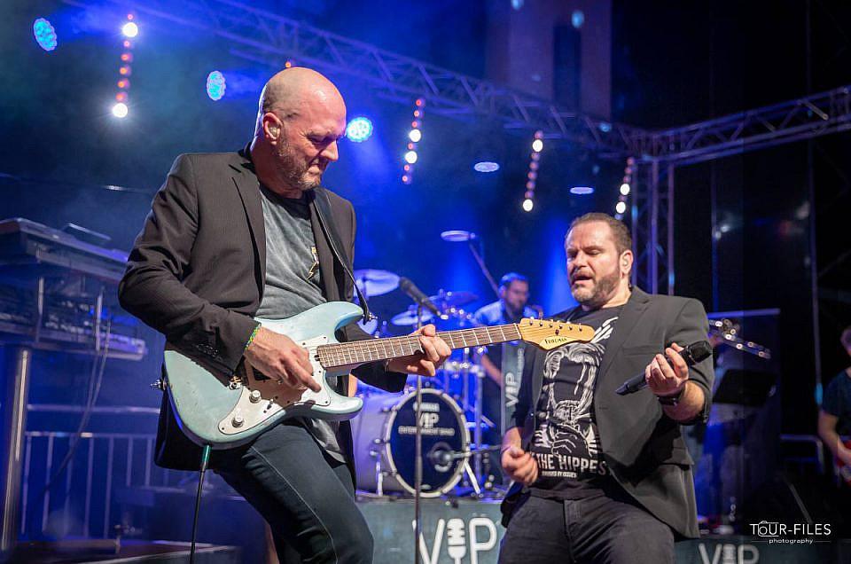 Liveband auf der Bühne