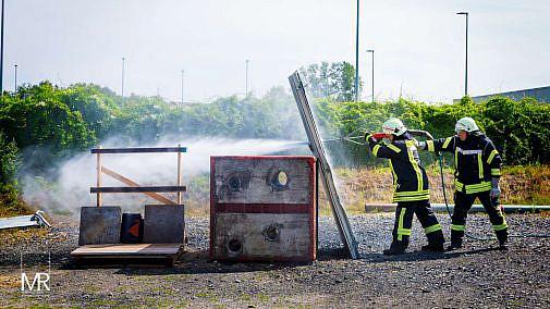 Fotograf bei Feuerwehr