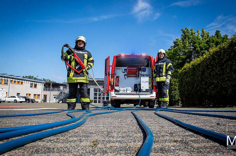 Fotograf bei Feuerwehr Event