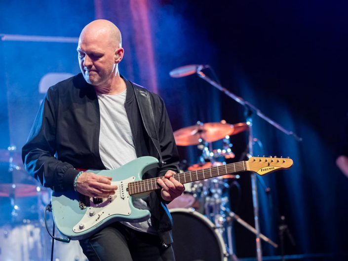 Gitarrist spielt solo